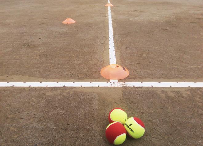 テニスのサイドステップ