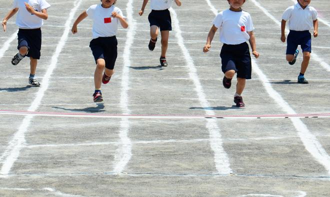 子供の足を早くする練習方法