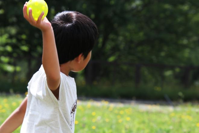 キャッチボールで軌道を予測