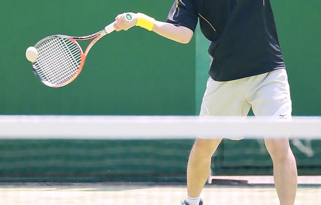 テニスのミートポイント